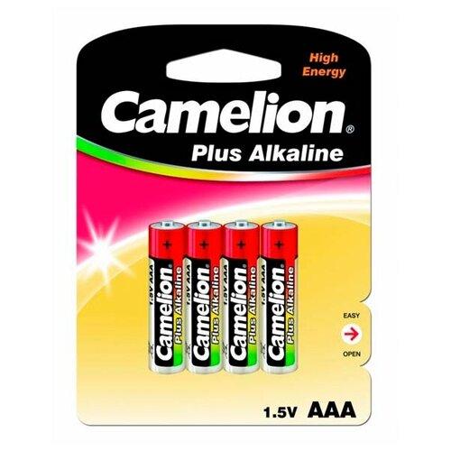 Фото - Батарейка Camelion Plus Alkaline AAA, 4 шт. батарейка energizer max plus aa 4 шт