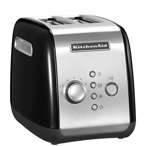Фото - Тостер KitchenAid 5KMT221EOB, черный тостер kitchenaid 5kmt2204efp морозный жемчуг
