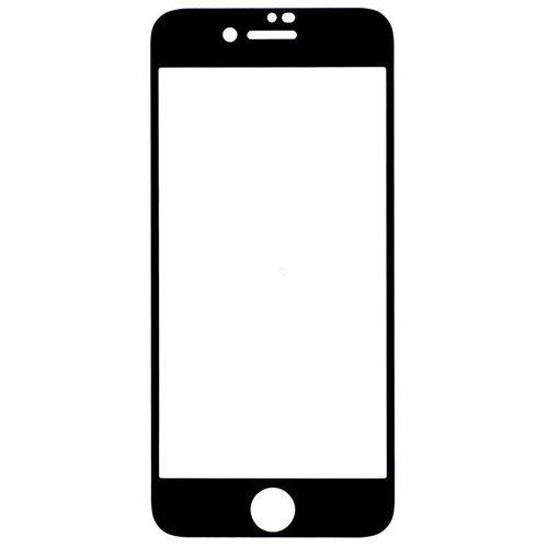 Защитное стекло Gosso FULL SCREEN для Apple iPhone 8/7/7s черный