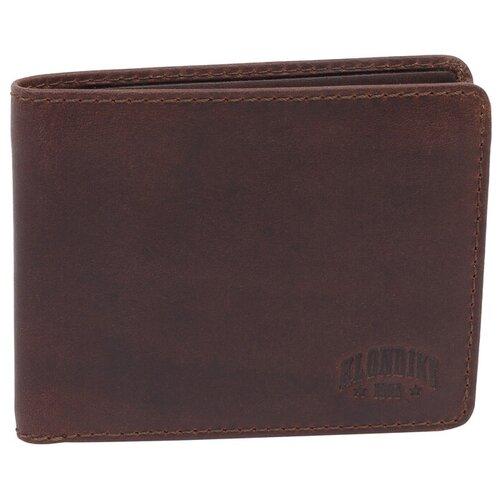 Бумажник KLONDIKE 1896 Amos KD1042-03 натуральная кожа коричневый