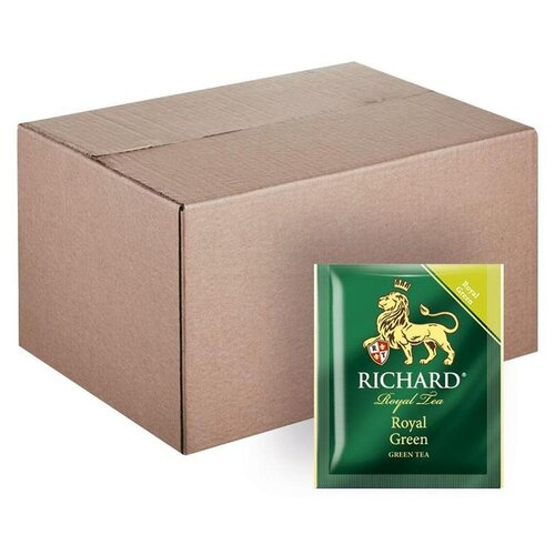 Чай зеленый Richard Royal green в пакетиках, 200 шт.
