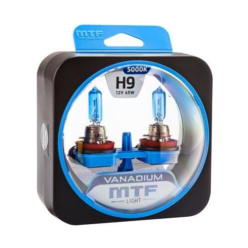 Галогеновые лампы MTF light Vanadium 5000K H9