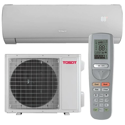 Настенная сплит-система Tosot T12H-SLyR/I/T12H-SLyR/O Lyra Inverter, R32, Wi-Fi