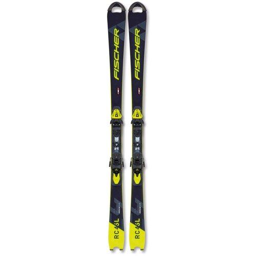 Горные лыжи детские без креплений Fischer Rc4 Worldcup Sl Jr. (20-21), 120 см