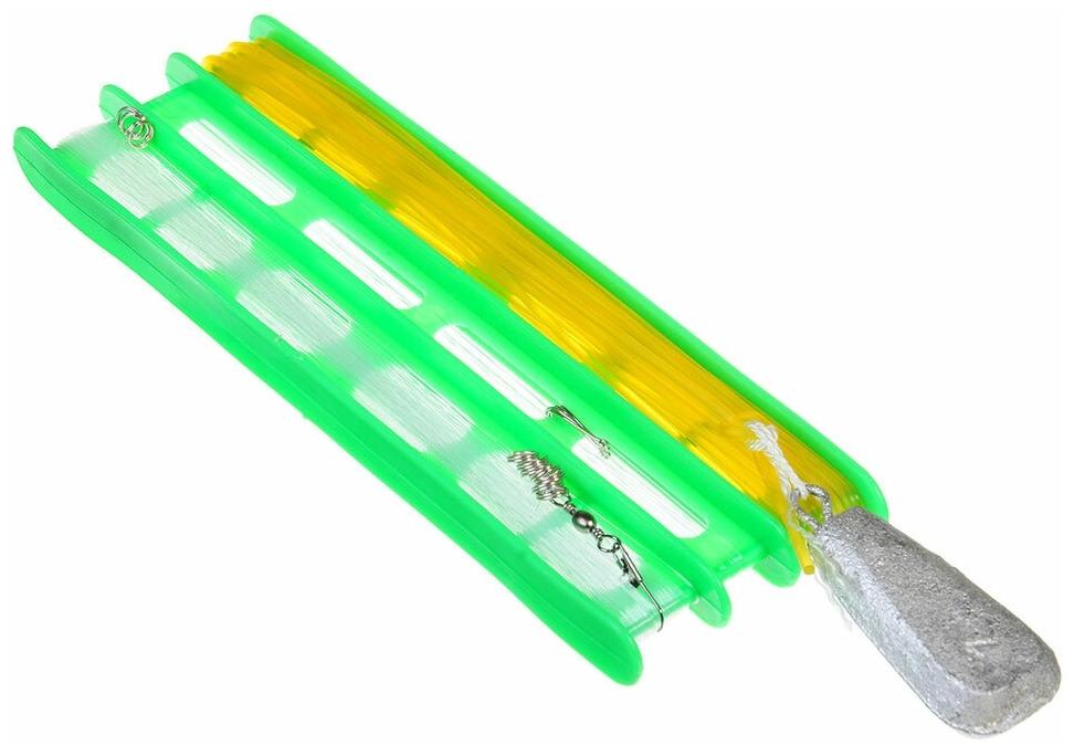 Характеристики модели Снасть донная AZOR FISHING оснащенная (леска 30 м/крючок 5 шт/резинка 10 м/груз 80г/карабин 2 на Яндекс.Маркете