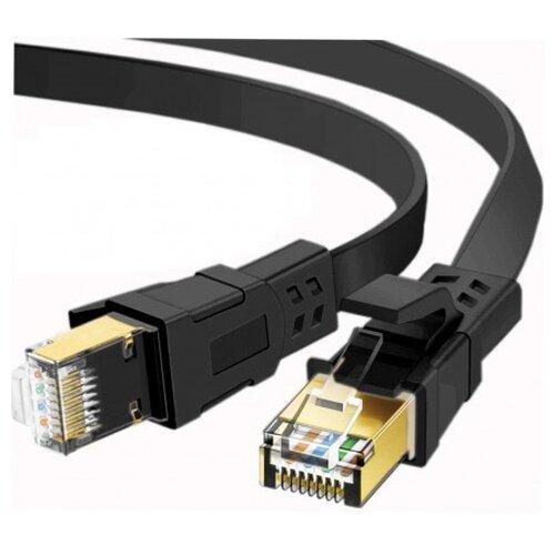 Фото - Сетевой кабель KS-is U/FTP Cat.8 RJ45 2.0m KS-411-2 пусковые провода ks ks 100a 50 2 5m