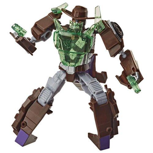 Купить Трансформер Transformers Кибервселенная. Класс Истребители. Вайлдвил (E8374) серый/коричневый, Роботы и трансформеры
