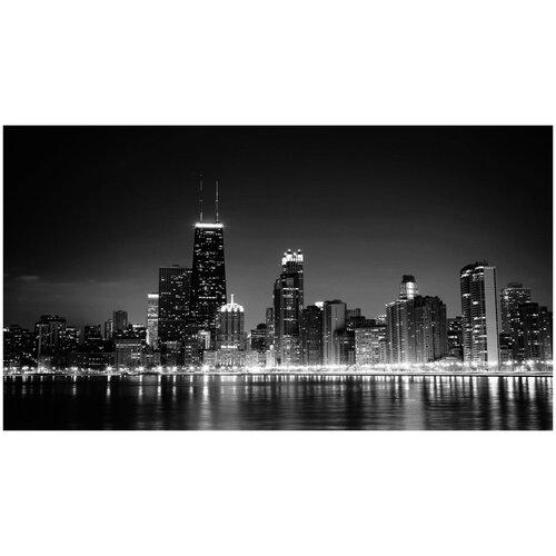 Супермоющиеся антивандальные фотообои Антимаркер, Ночной Манхэттен, 2-А-234, 270х150 см