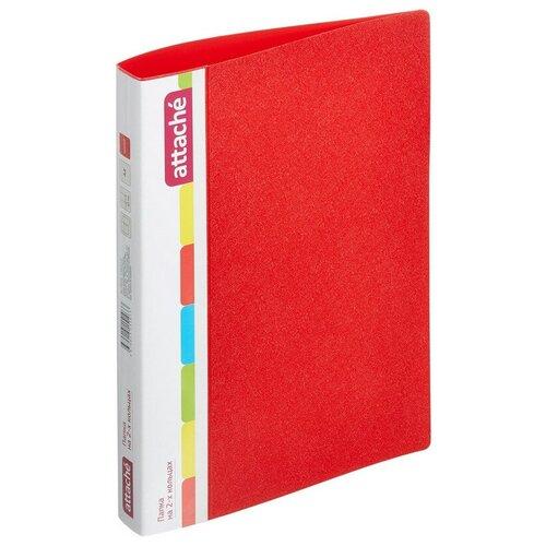 Купить Папка на 2-х кольцах, 25/32мм А4 Attache 07, красный 2 шт., Файлы и папки