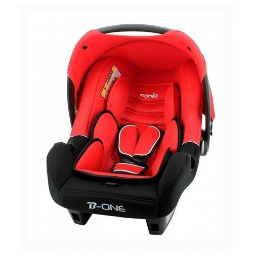 Автокресло-переноска группа 0+ (до 13 кг) Nania BeOne SP Luxe, red автокресло группа 0 1 2 до 25 кг nania revo luxe isofix red