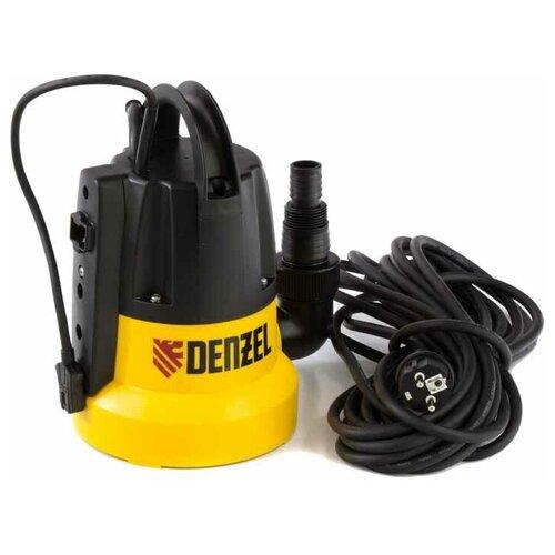 Дренажный насос для чистой воды Denzel DP500E (500 Вт) дренажный насос denzel dp450s 450 вт