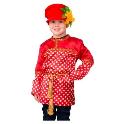 Фото - Костюм Батик Кузя (2044), красный, размер 146 костюм батик леший 6074 коричневый размер 146