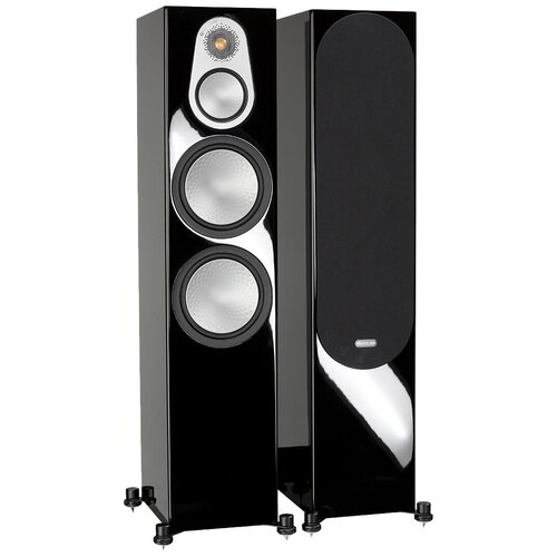 Напольная акустическая система Monitor Audio Silver 500 High Gloss Black