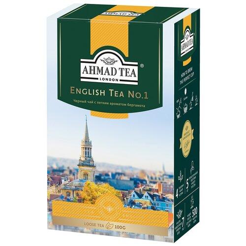 Чай черный Ahmad tea English tea No.1, 100 г чай ahmad tea ceylon tea op черный 100 г