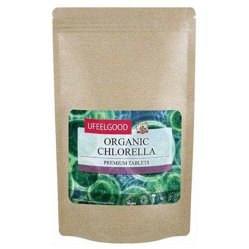 Хлорелла UFEELGOOD органическая, таблетки, пакет, 100 г недорого