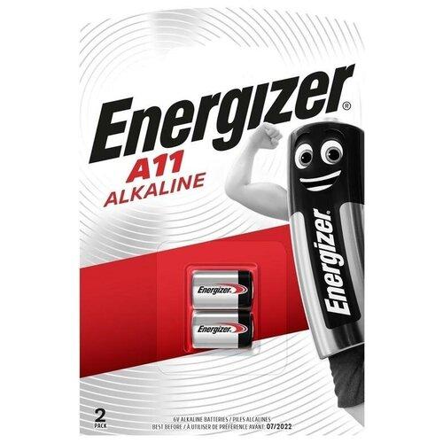 Фото - Батарейка Energizer A11, 2 шт. серебряно цинковая батарейка для часов energizer 371 2 шт