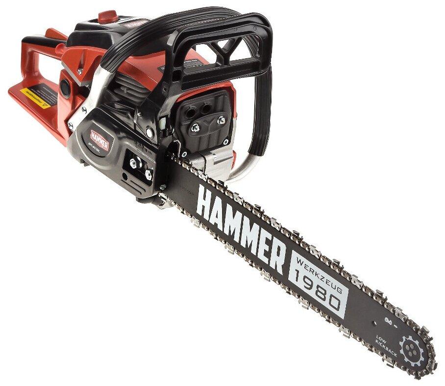Бензиновая пила Hammer BPL4518C 2000 Вт/2.7 л.с — купить по выгодной цене на Яндекс.Маркете