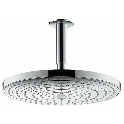 Фото - Верхний душ встраиваемый hansgrohe Raindance Select S 300 2jet 27337400 хром верхний душ встраиваемый hansgrohe raindance s 27607000 хром