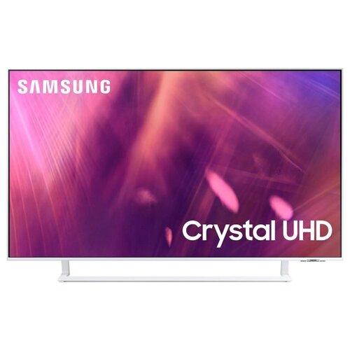 Фото - Телевизор Samsung UE43AU9010U 43 (2021), белый телевизор samsung 43 ue43au9010uxru