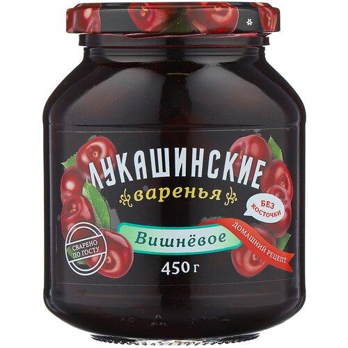 Фото - Варенье Лукашинские вишневое без косточки, банка, 450 г варенье лукашинские черничное банка 450 г