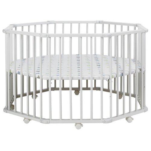 Купить Манеж-кровать Geuther Octo-Parc Plus белый 32, Манежи