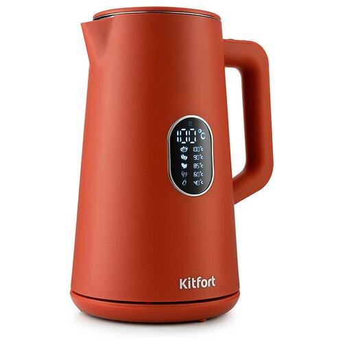 Чайник Kitfort KT-6115-3, красный