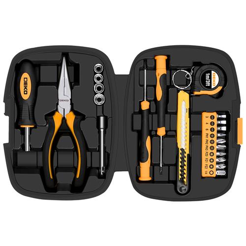 Фото - Набор инструментов DEKO TZ21, 21 предм., черный набор инструментов deko tz82 82 предм черный желтый