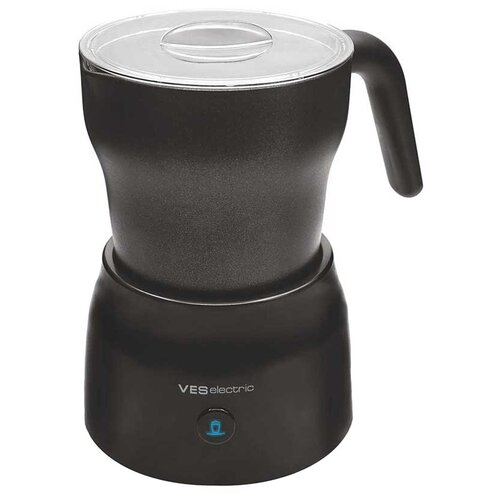 Вспениватель для молока VES electric V-FS25-B, черный фен щетка ves electric v hd500 черный серебристый