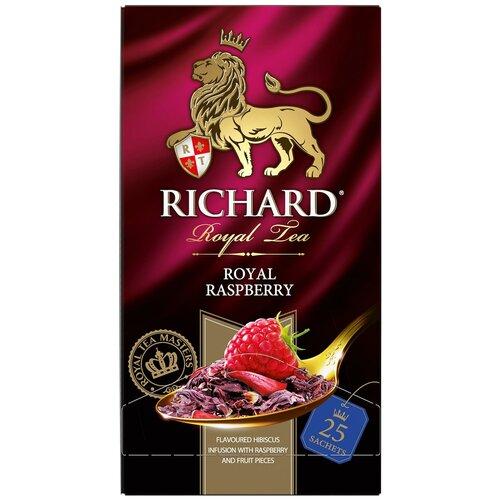 Чайный напиток красный Richard Royal raspberry в пакетиках, 25 шт. чайный напиток красный tea kir royal 180 г