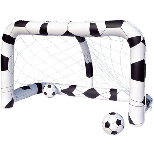 Футбольный набор Bestway ворота и мяч (52058) алексей дмитриевич щавелев и вот мяч летит в ворота…