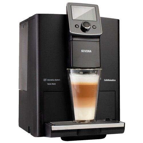 Кофемашина Nivona CafeRomatica 820, черный