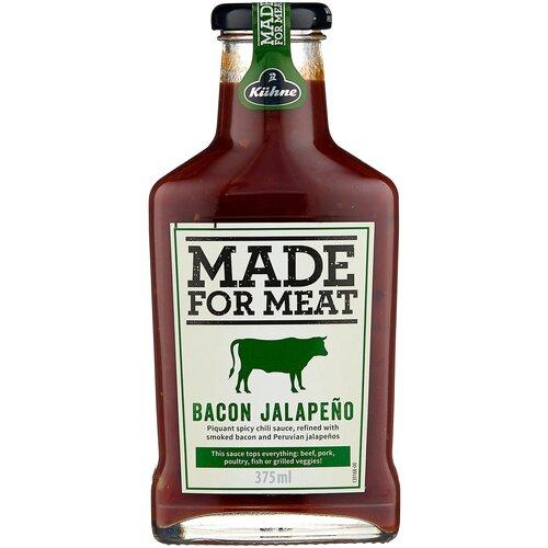 Соус Kuhne Bacon jalapeno, 375 мл недорого
