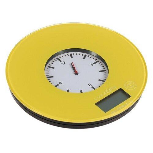 Кухонные весы Luazon LVK-508/LVK-703 желтый