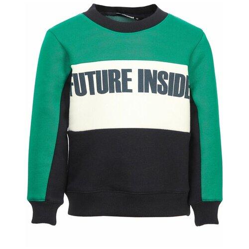 Фото - Свитшот Oldos размер 98, зеленый куртка oldos мальта law192t106jk размер 98 зеленый
