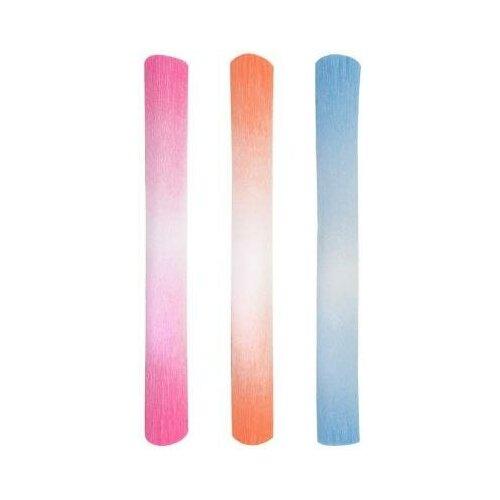 Fancy Creative Цветная бумага Fancy Creative Флористика 250х50 см рулон крепированная градиентная FD010034 в ассорт