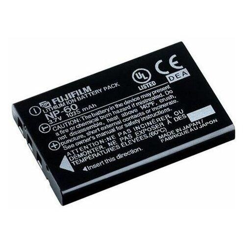 Фото - Аккумулятор Fujifilm NP-60 для Fujifilm FinePix 50i, 601, F401, F410, F420, F601Z, 501 аккумуляторная батарея для фото видеокамер fujifilm finepix hs30 hs33exr x pro 1 np w126 7 4v 1020mah