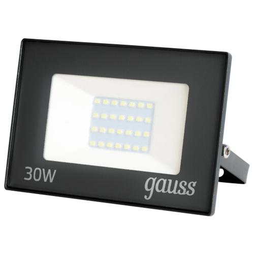 Прожектор светодиодный уличный SMD Gauss Basic 30 Вт 6500К IP65