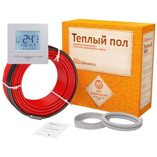 Теплый пол в стяжку Warmstad WSS 213,0 м/3300 Вт с электронным терморегулятором
