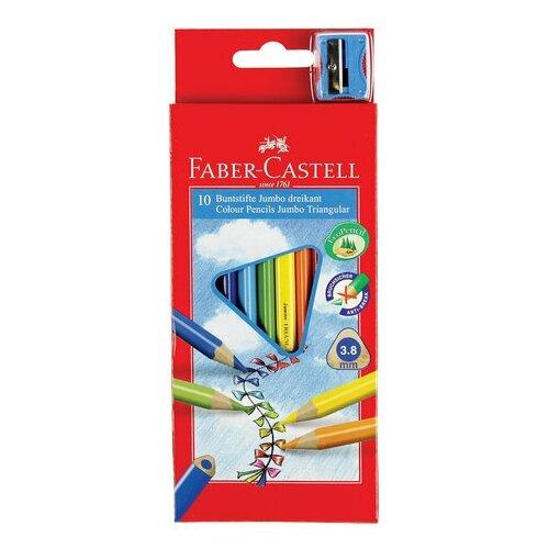 Карандаши цветные утолщенные FABER-CASTELL