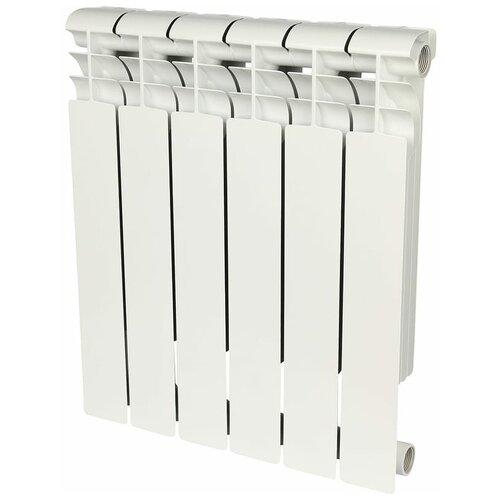 Радиатор биметаллический ROMMER Profi Bm 500 x6 радиатор retrostyle leicester x6