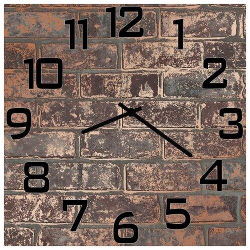 SvS Настенные часы SvS 3502797 Кирпичная стена