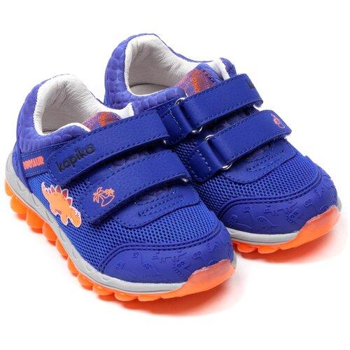 Кроссовки Kapika размер 24, темно-синий/оранжевый