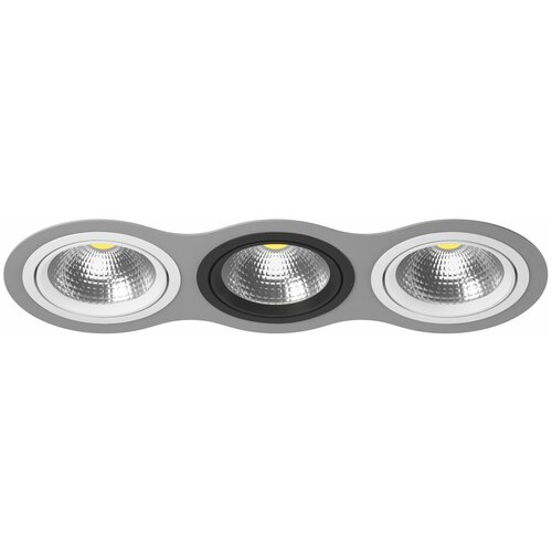 Комплект из светильника и рамки Intero 111 Intero 111 Lightstar i939060706
