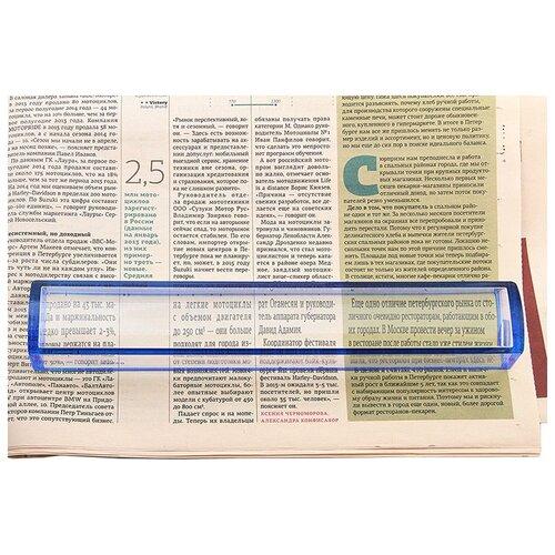Фото - Лупа для чтения Veber 3x, 250x38 мм (7514) лупа с ручкой и подсветкой veber g 288 090 3x 6x 90 мм