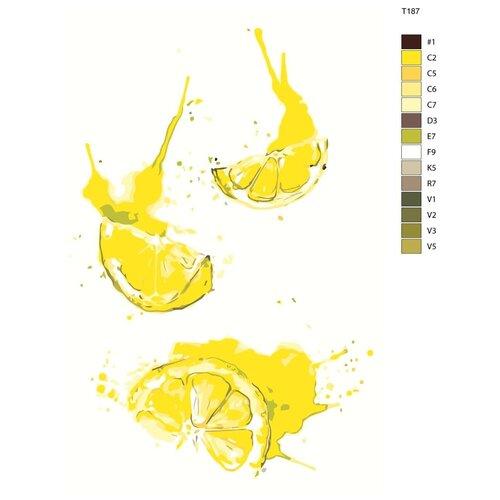 Фото - Картина по номерам «Кислые лимоны» 40х60 см (T187) t187