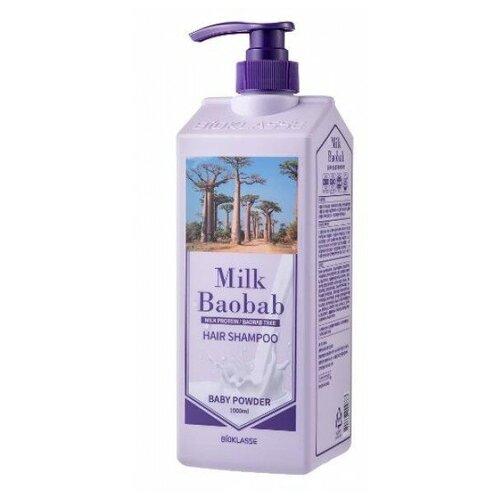 Купить Шампунь для волос с ароматом детской пудры MilkBaobab Shampoo Baby Powder (Perfume), Milk Baobab