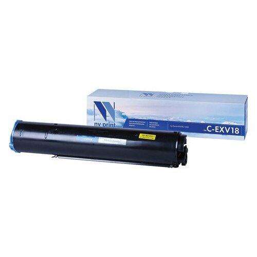 Фото - Тонер NV PRINT (NV-C-EXV18) для CANON iR-1018/1022/ 2020, 465 г, ресурс 8400 стр., 1 шт. картридж nv print nv cexv18 для для canon ir 1018 1020 1022 1023 1024 8400стр черный