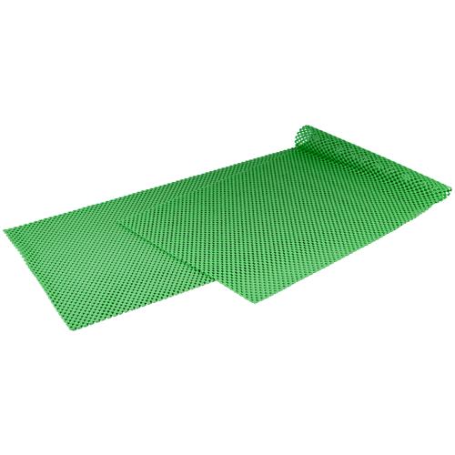 Коврик антискользящий кухонный 30*100 см зеленый