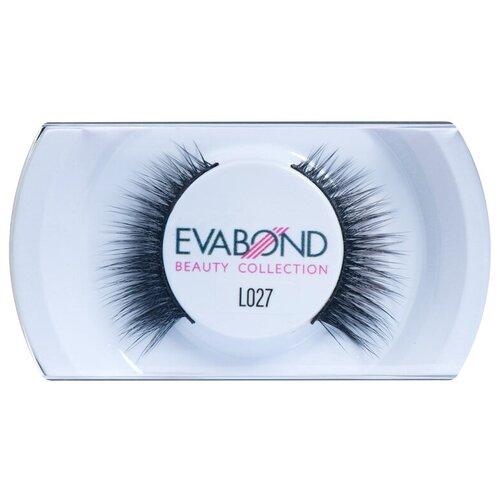 Купить EVABOND Накладные ресницы L027 черный