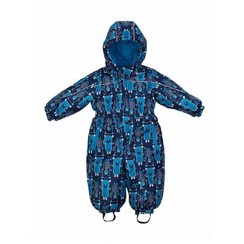 Купить Комбинезон Oldos Дерри размер 80, синий/голубой, Теплые комбинезоны